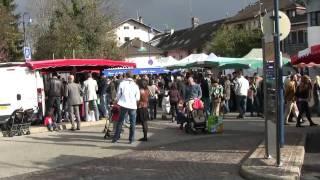 le marché de Divonne-les-Bains