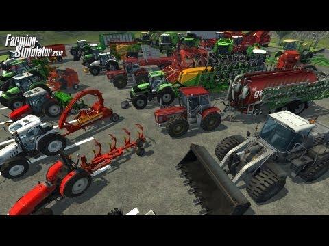 Farming Simulator 2013 Krone Big 500 Forage Wagon Attach