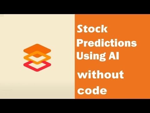 Predicting Stock Prices with AI WITHOUT CODE