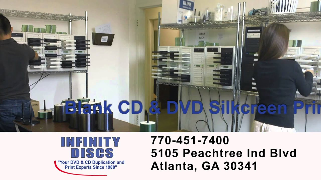 Cd Duplication Atlanta Dvd Duplication Atlanta Youtube