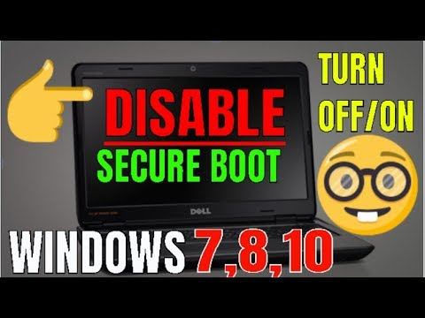 HOW TO DISABLE SECURE BOOT IN PC #Windows7#Windows8#Windows10 In Hindi By Borntoplaygames