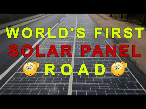 First solar power road inaugurated in France