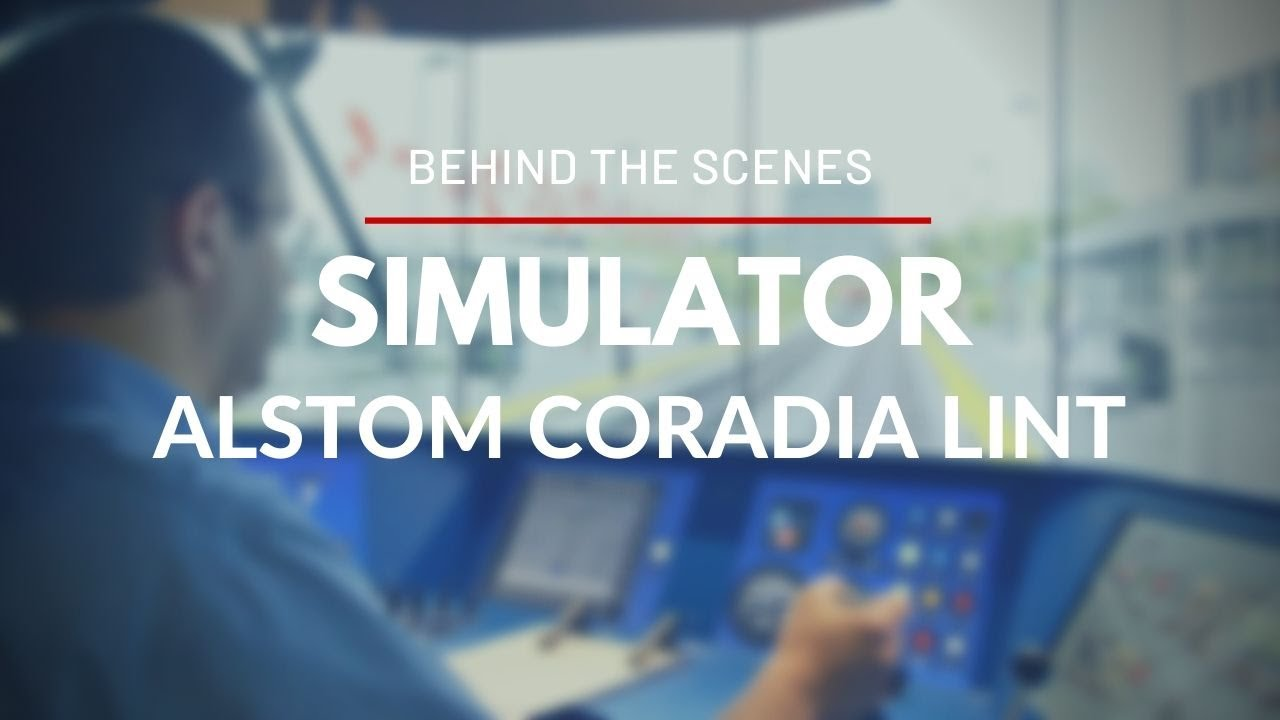 Behind the Scenes : Alstom Coradia LINT simulator for OC Transpo's O-Train Trillium Line