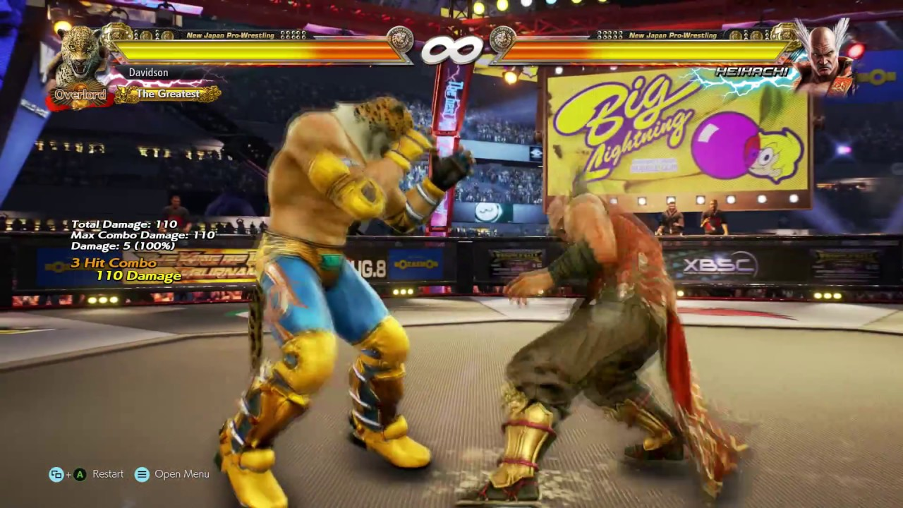 Tekken 7 King Grappling Combos Youtube