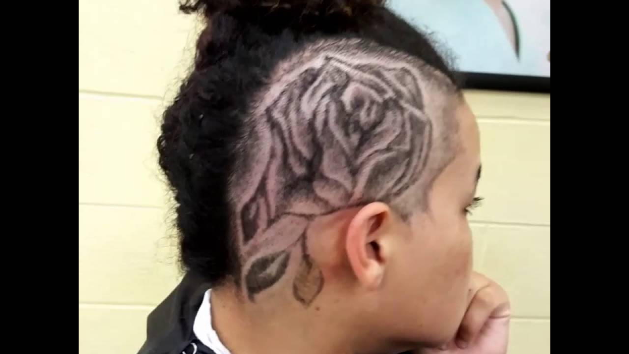 rose hair design barberporn