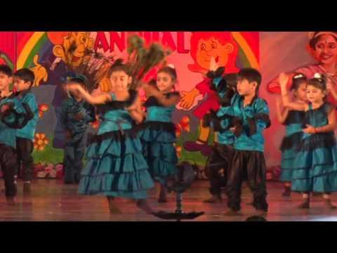 Cute Children Dance Performance on Annual Day Of JB Diamond School Surat