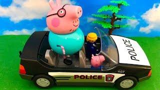 ☻ Swinka Peppa po Polsku ☻ George chce zostac policjantem ☻ Bajka dla dzieci