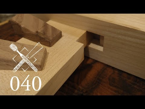 "Joint Venture Ep. 40: Notched and wedged wall bridging ""Watari ago"" (Japanese Joinery)"