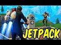 Jetpack Showdown! - Fortnite Jetpack Gameplay w/Teo