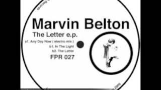 THE LETTER - Marvin Belton - Ferrispark Records