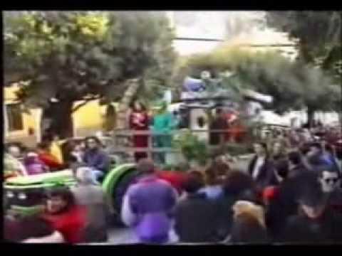 Monte Porzio Catone - Ricordo del carnevale - anno 1995