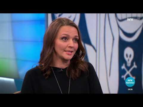 Lise Myhre / Nemi på NRK Dagsrevyen 25.10.2017