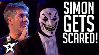 TERRIFYING Act SHOCKS Simon Cowell on Britain's Got Talent | Magicians Got Talent