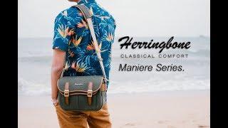 Tas Kamera Herringbone Maniere Medium Camera Bag - Olive