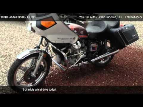 1978 honda cx500 windjammer ss for sale in grand for Grand junction honda