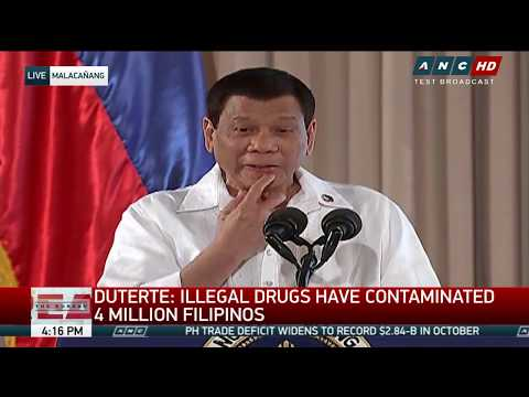 WATCH: President Duterte honors child-friendly municipalities and cities.