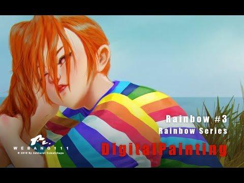 Rainbow #3 [Digital Painting]