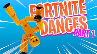 STIKBOT FORTNITE DANCES PT.1