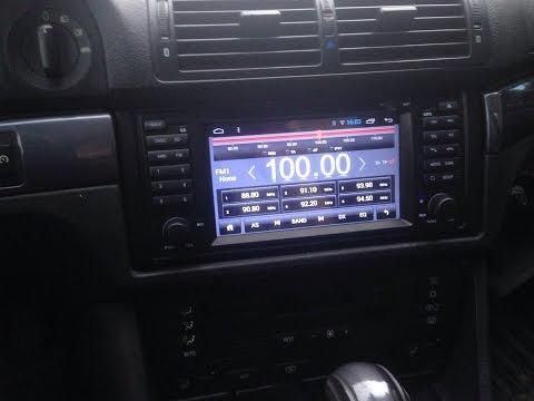 Установка Multimedia Android в BMW e39.