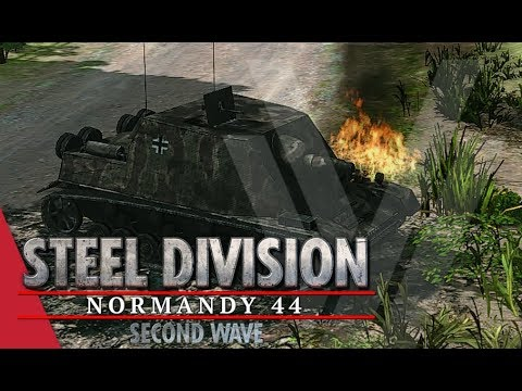 TGPT Round 3! Steel Division: Normandy 44 - YueJin vs Nicholas Fricke (Game 2, Colleville)