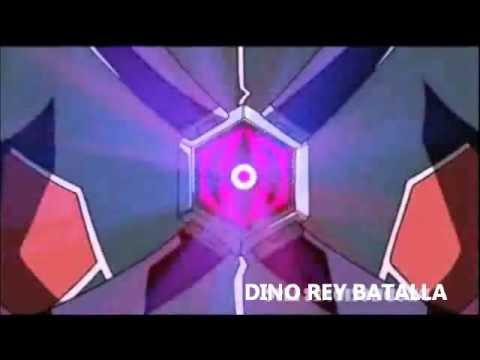 dino rey batalla contra el edmontonia y el biceratops
