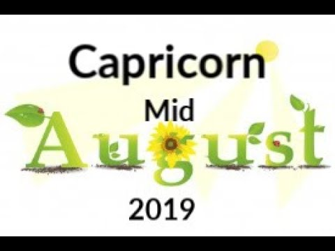 Capricorn Mid August 2019 ~ Be Honest With Yourself, Close Your Eyes & Jump