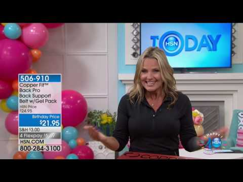 HSN | HSN Today: Healthy Innovations Celebration featuring Copper Fit 07.12.2017 - 07 AM