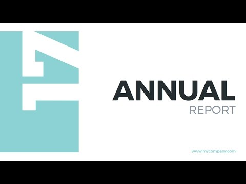 Annual report 2017 powerpoint template youtube annual report 2017 powerpoint template toneelgroepblik Images