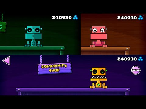 Looting All Shops! [Compilation] [Geometry Dash 2.11]
