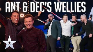Unforgettable Audition: The Noise Next Door are READY TO RHUMBLE! | BGT 2020