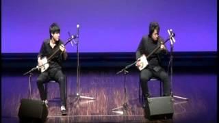 桃響futari(澤田響紀 岩田桃楠)「コネマラの丘」アイルランド民謡 by 津軽三味線