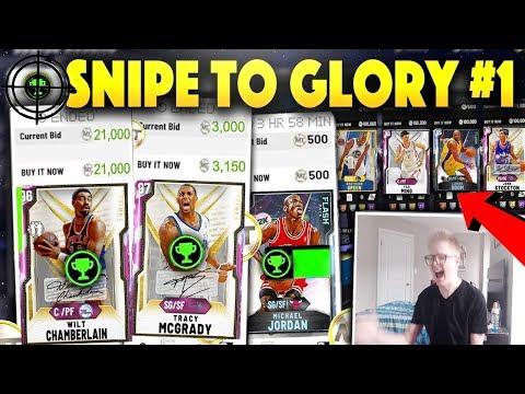 SNIPE TO GLORY #1 *INSANE* Pink Diamond Snipes!! CRAZY PD Prime Snipes!! NBA 2K20