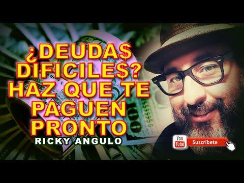 ¿Qué hacer Espiritualmente para que te paguen tus Deudas Incobrables? Ricky Angulo