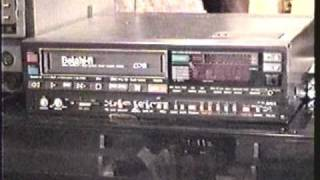 Camera Video of a Very Rare Aiwa AV-70M Beta H-Fi VCR  - Jan., 1999!!