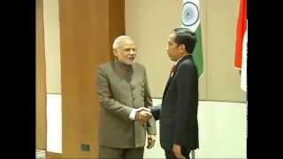 pm meets the president of indonesia joko widodo in nay pyi taw myanmar
