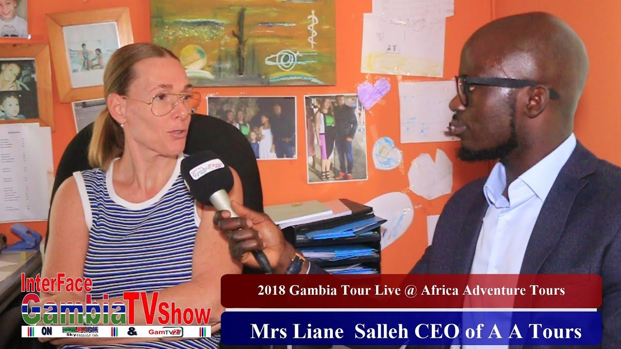 InterFace Gambia TV Live on 16th Jan 2019 with The 2018 Gambia Tour Jollof Show Part 6
