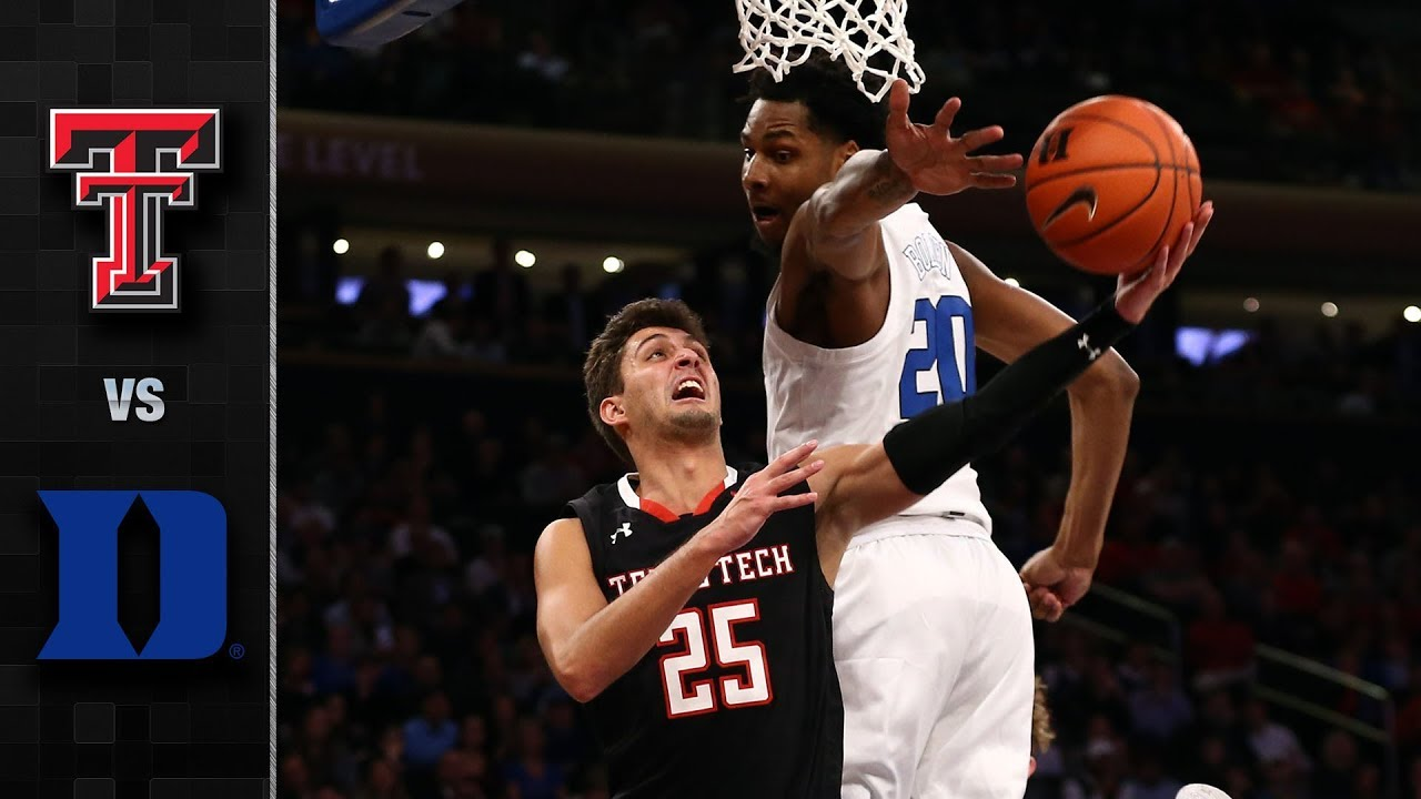 Texas Tech vs. Duke Basketball Highlights (2018-19) - YouTube
