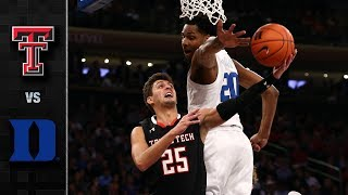 Texas Tech vs. Duke Basketball Highlights (2018-19)