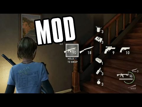 Sarah With All Joel's Abilities/Weapons Mod (The Last Of Us)