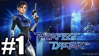 Rare Replay : Perfect Dark - Gameplay Walkthrough Part 1 [ HD ]