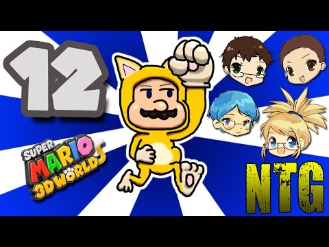 Heart of Africa! -- Super Mario 3D World #12 -- No Talent Gaming