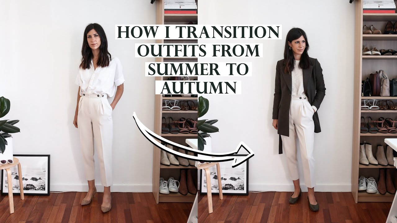 TRANSITIONAL OUTFIT IDEAS - How I transition my summer outfits for the autumn season | Mademoiselle 2