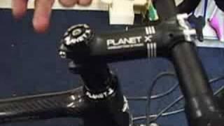 Planet X - Road Bike Assembly