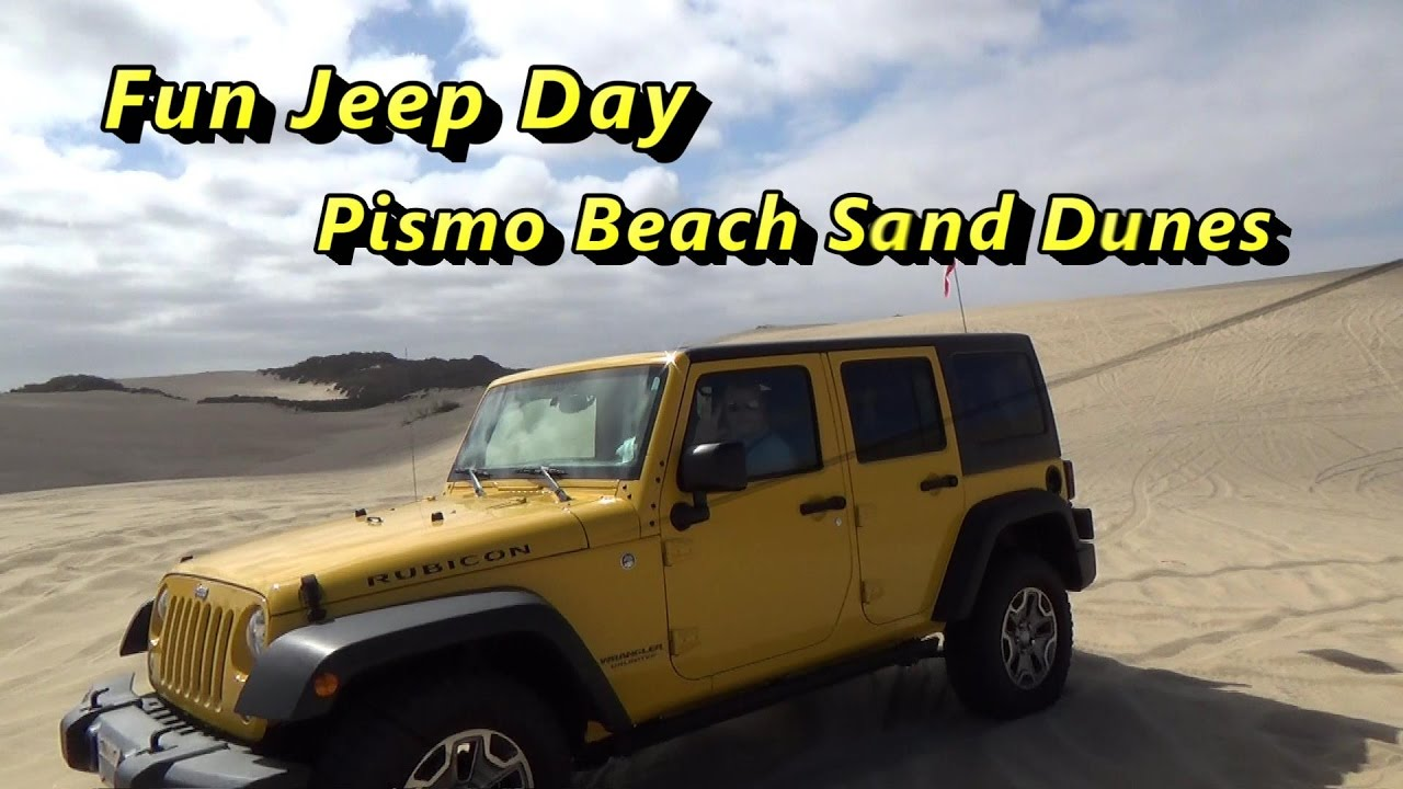 Jeep Offroading At Pismo Beach Sand Dunes