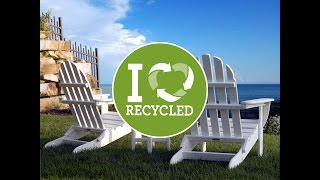 Advantages of Recycled plastic Adirondack chairs over conventional wood pieces