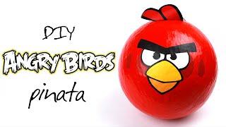 DIY Angry Birds Pinata