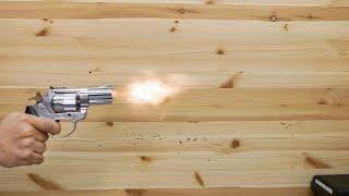 Сигнальный револьвер Zoraki Lom-S (хром) видео обзор