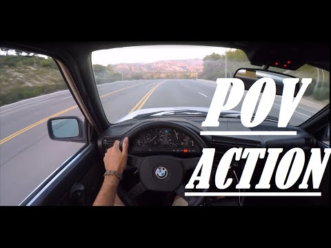 GoPro : POV Action BMW E30 Runs