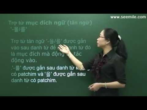 Hoc Hoi Thoai Tieng Han Quoc  - Bai 08 ( Bay Gio La May Gio ? )
