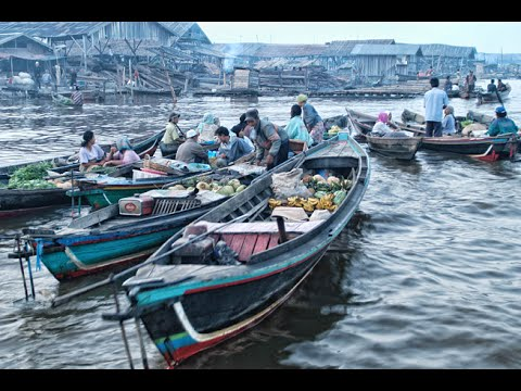 Banjarmasin, The City on a Thousand Rivers, South Kalimantan, Indonesia - Best Travel Destination